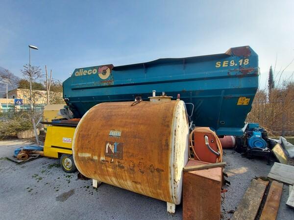 1#5997 Miscelatore per rifiuti Aleco e carrello elevatore Linde in vendita - foto 5