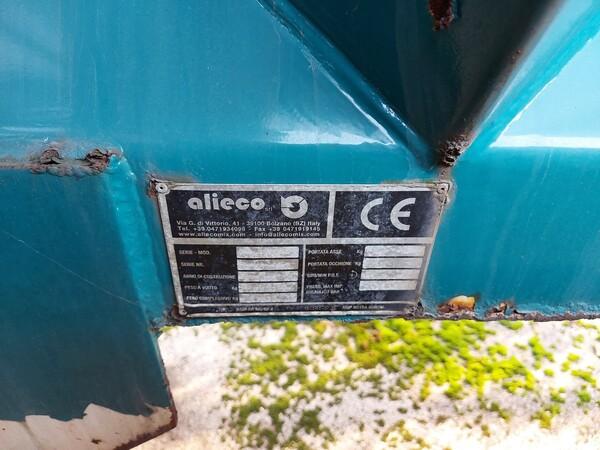 1#5997 Miscelatore per rifiuti Aleco e carrello elevatore Linde in vendita - foto 7