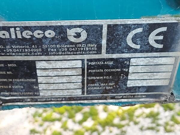 1#5997 Miscelatore per rifiuti Aleco e carrello elevatore Linde in vendita - foto 8