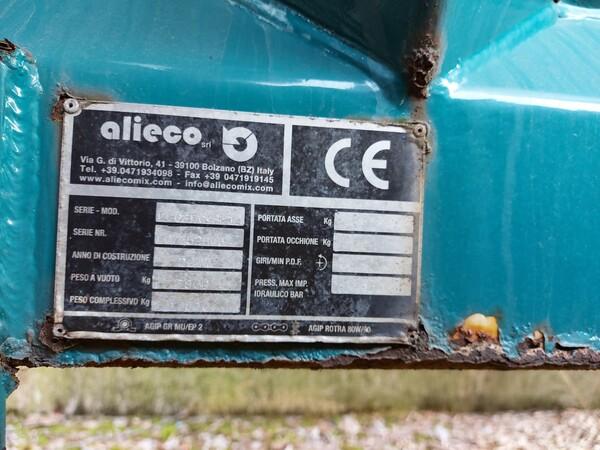 1#5997 Miscelatore per rifiuti Aleco e carrello elevatore Linde in vendita - foto 9
