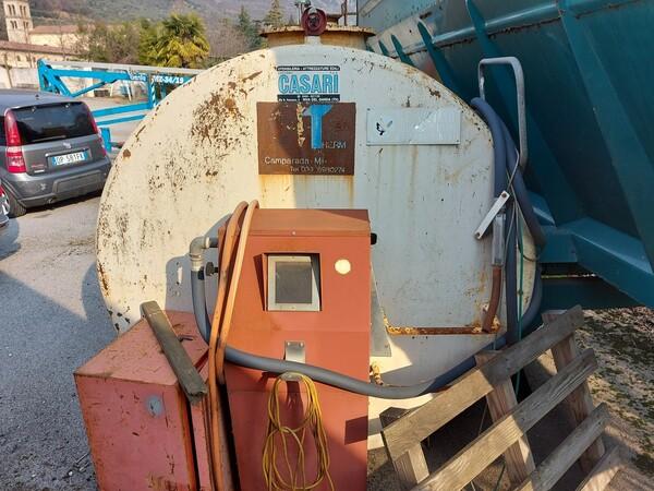 1#5997 Miscelatore per rifiuti Aleco e carrello elevatore Linde in vendita - foto 12