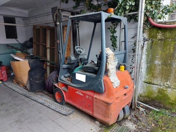 1#5997 Miscelatore per rifiuti Aleco e carrello elevatore Linde in vendita - foto 13