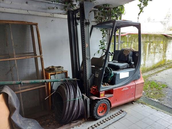 1#5997 Miscelatore per rifiuti Aleco e carrello elevatore Linde in vendita - foto 14