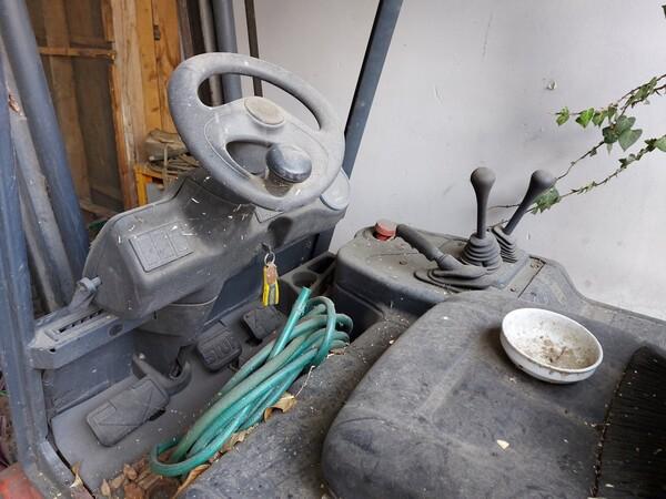 1#5997 Miscelatore per rifiuti Aleco e carrello elevatore Linde in vendita - foto 15