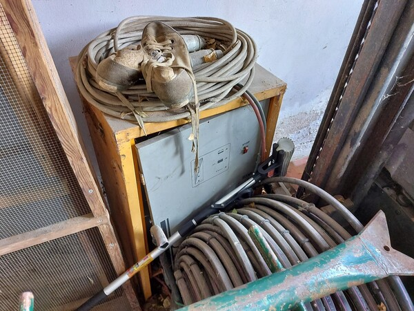 1#5997 Miscelatore per rifiuti Aleco e carrello elevatore Linde in vendita - foto 17