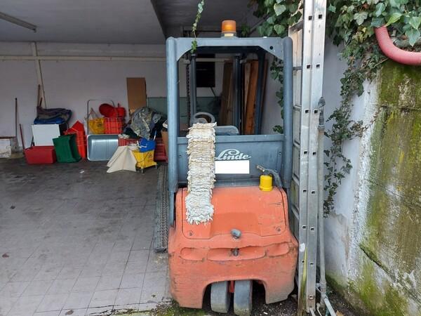 1#5997 Miscelatore per rifiuti Aleco e carrello elevatore Linde in vendita - foto 20