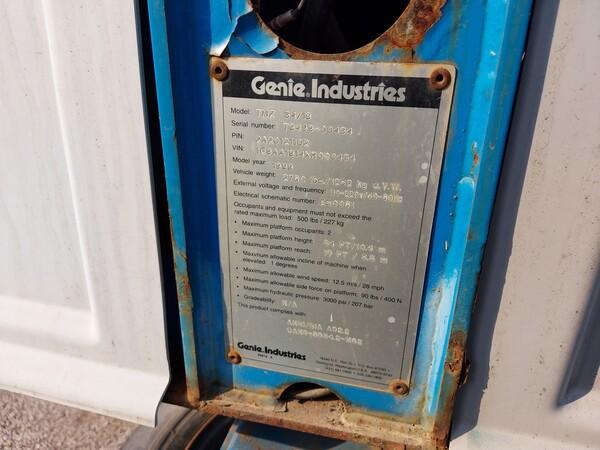 8#5997 Piattaforma Genie Industries TMZ 34/19 in vendita - foto 8