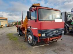 Iveco Fiat crane truck - Lot 9 (Auction 5999)