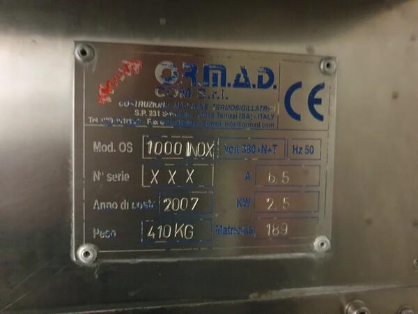 5#6003 Termosigillatrice Ormad OS 1000 in vendita - foto 4