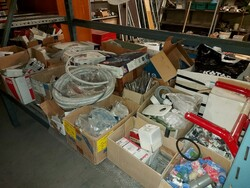 Magazzino di materiale termoidraulico e edile