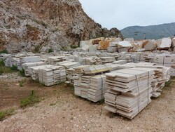 Marble slabs and blocks - Lot 5 (Auction 6014)