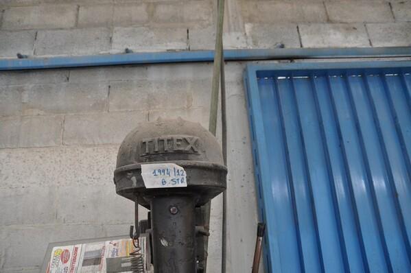 24#6024 Trapano a colonna Titex e transpallet in vendita - foto 2
