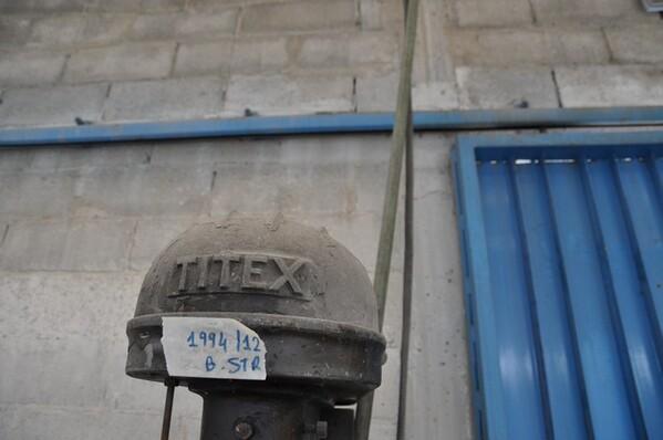 24#6024 Trapano a colonna Titex e transpallet in vendita - foto 6