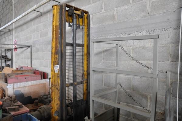 24#6024 Trapano a colonna Titex e transpallet in vendita - foto 9