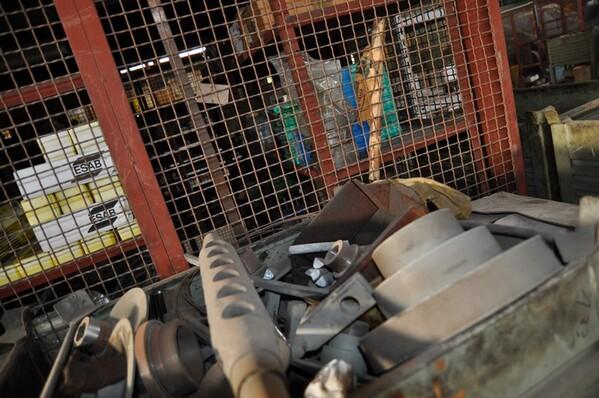 28#6024 Ricambi e pulegge in vendita - foto 5