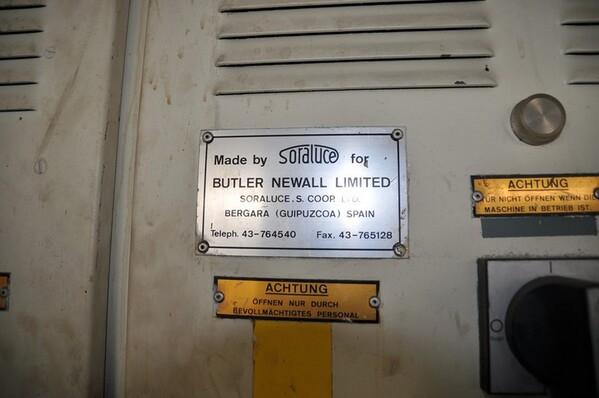 7#6024 Fresatrice Solaluce Butler in vendita - foto 2