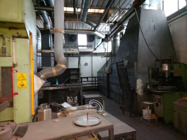 14#6026 Linea con forni Sofind e presse Electromodul in vendita - foto 4