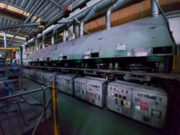 14#6026 Linea con forni Sofind e presse Electromodul in vendita - foto 5