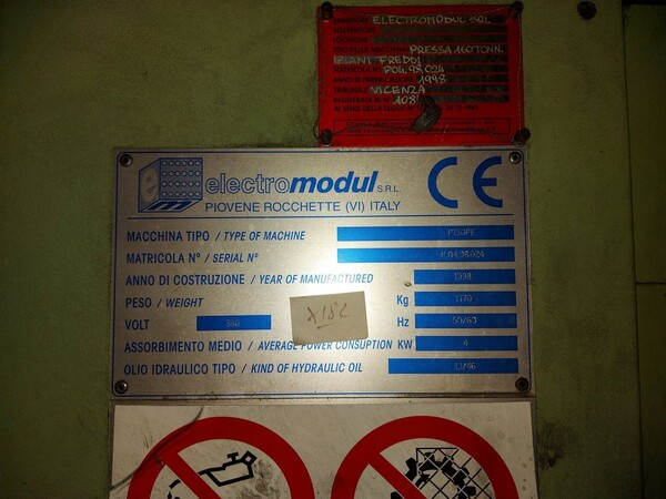 14#6026 Linea con forni Sofind e presse Electromodul in vendita - foto 7