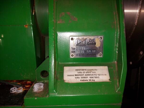 16#6026 Granigliatrice ZOZ in vendita - foto 4