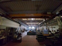 Double girder overhead crane Fabris - Lot 27 (Auction 6026)