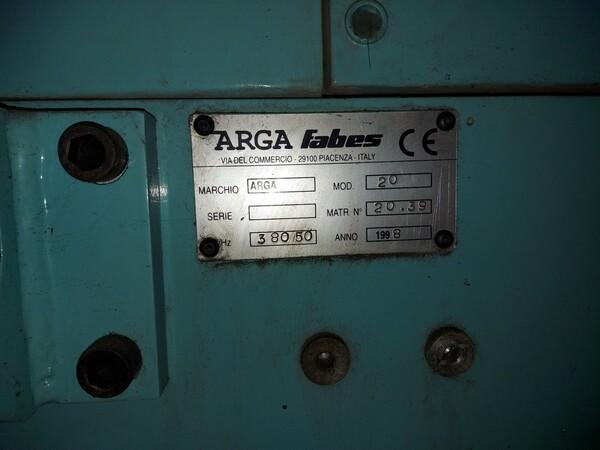 3#6026 Rettifica semiautomatica Arga Fabes in vendita - foto 2