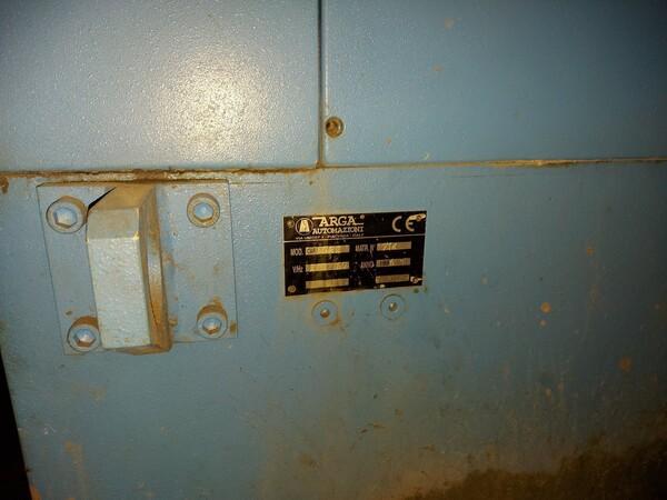 5#6026 Rettifica semiautomatica Arga Automazioni CAR20.25 in vendita - foto 8