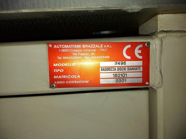 6#6026 Raddrizza dischi Automatismi Brazzale IF496 in vendita - foto 5