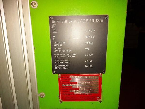 8#6026 Prestampante volumetrica Dr. Fritsch KPV160 in vendita - foto 5
