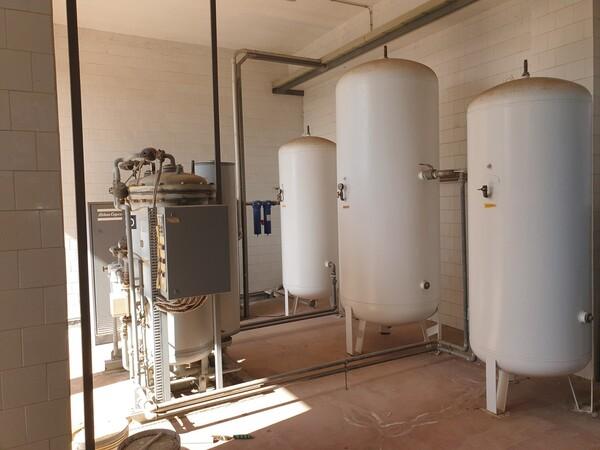 14#6027 Impianto per produzione azoto Italfilo in vendita - foto 3