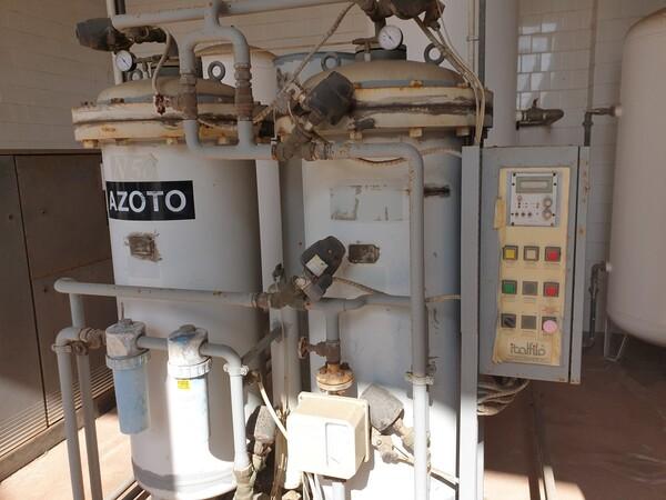 14#6027 Impianto per produzione azoto Italfilo in vendita - foto 6