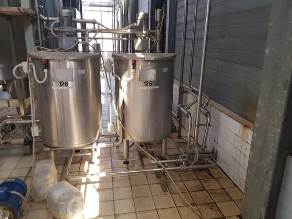 19#6027 Impianto per produzione succhi in vendita - foto 15