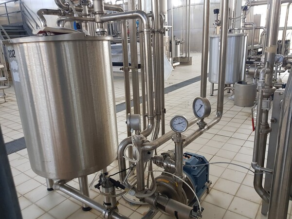 19#6027 Impianto per produzione succhi in vendita - foto 25