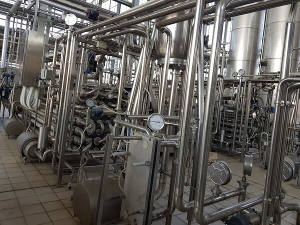 19#6027 Impianto per produzione succhi in vendita - foto 29
