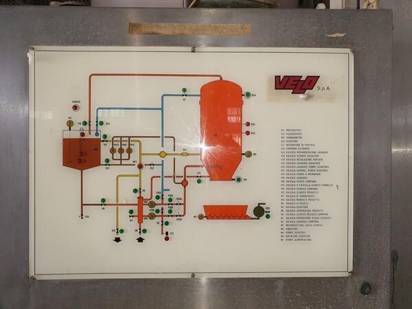4#6027 Impianto di filtrazione a farina fossile Velo in vendita - foto 11