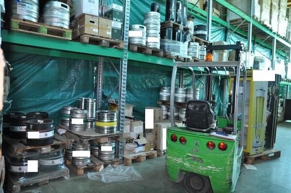 10#6028 Carrello elevatore Cesab con caricabatteria in vendita - foto 2