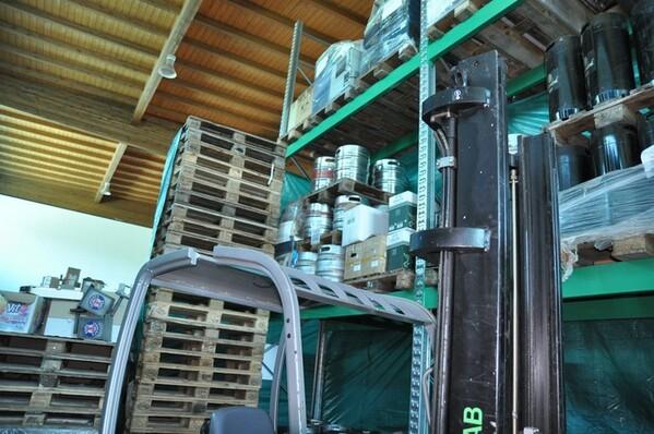 10#6028 Carrello elevatore Cesab con caricabatteria in vendita - foto 7