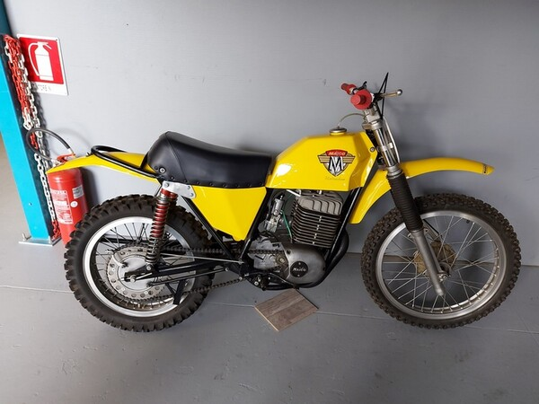 43#6030 Motocross Maico MC360 in vendita - foto 10