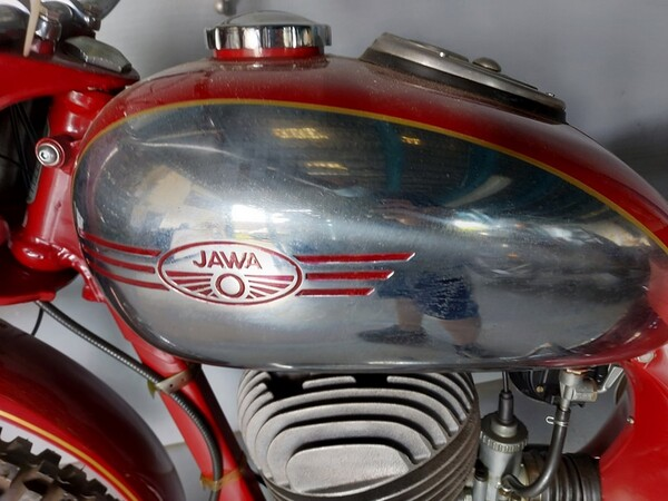 44#6030 Moto Jawa 350 in vendita - foto 4