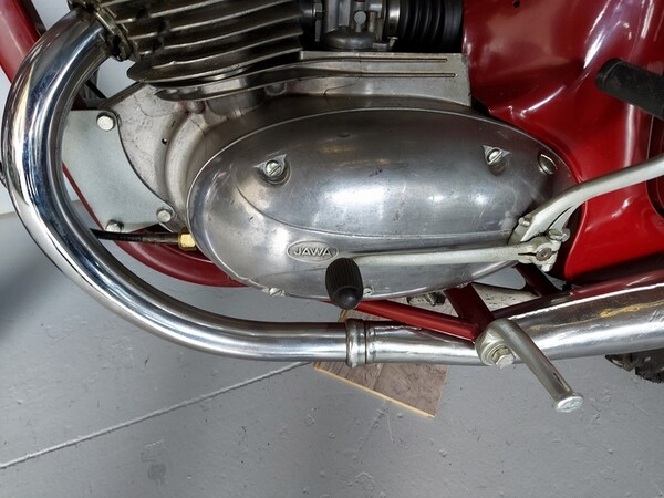 44#6030 Moto Jawa 350 in vendita - foto 8