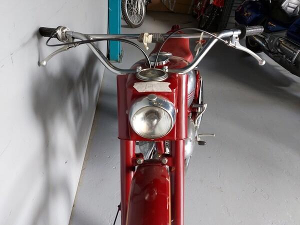 44#6030 Moto Jawa 350 in vendita - foto 9