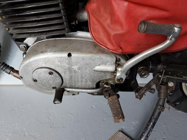 48#6030 Motociclo MZ ETZ 250/g in vendita - foto 5