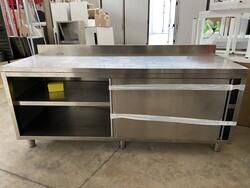 Afinox cupboard table - Lote 3 (Subasta 6031)