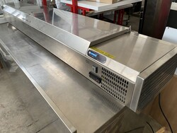 Afinox Spring refrigerated counter for pizza chefs - Lote 9 (Subasta 6031)