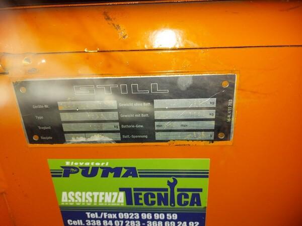 3#6042 Stoccatore elettrico Still e transpallet manuale in vendita - foto 4
