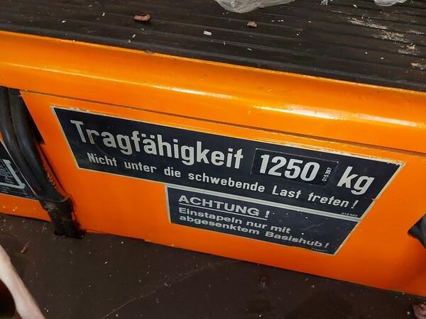 3#6042 Stoccatore elettrico Still e transpallet manuale in vendita - foto 8
