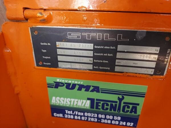 3#6042 Stoccatore elettrico Still e transpallet manuale in vendita - foto 9