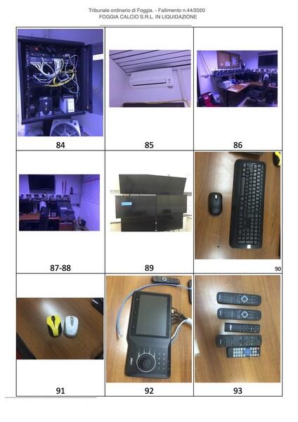 1#6043 Arredi e attrezzature per squadre calcistiche in vendita - foto 255
