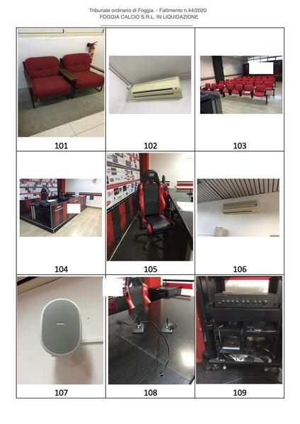 1#6043 Arredi e attrezzature per squadre calcistiche in vendita - foto 257
