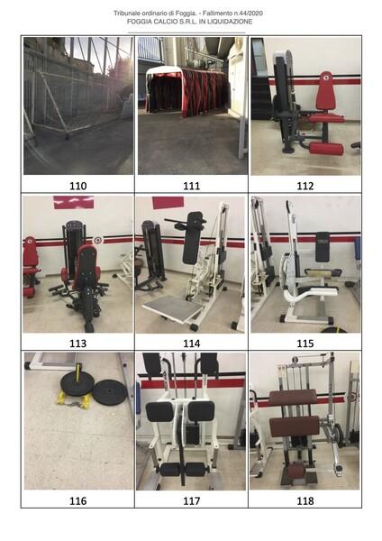 1#6043 Arredi e attrezzature per squadre calcistiche in vendita - foto 258
